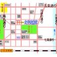 a文子天満宮1:アクセス地図