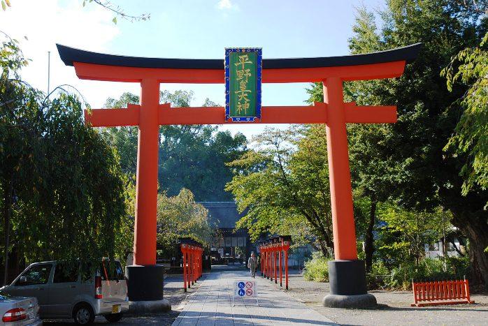 h平野神社1:平野神社鳥居