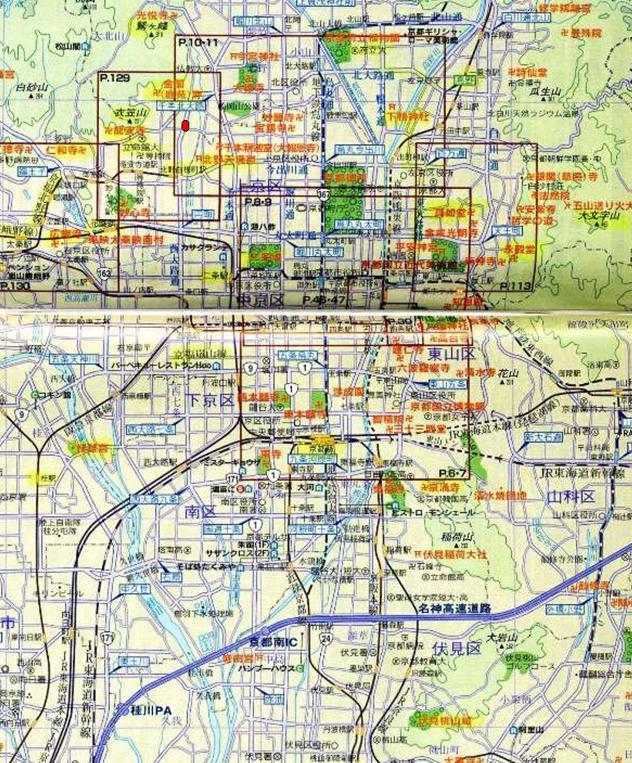 m1京都市街地図