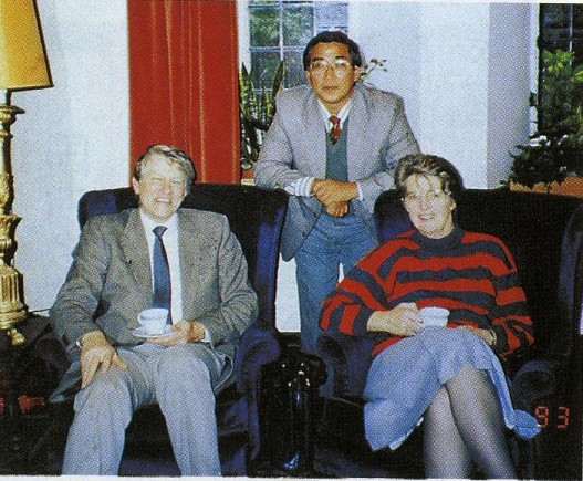 イギリス1:6 ワイカレッジの学長プレスコット夫妻