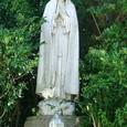 大阪・玉造教会5:「ファチマの聖母と羊飼いの像」の聖母像