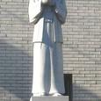 大阪・玉造教会9:高山右近石像