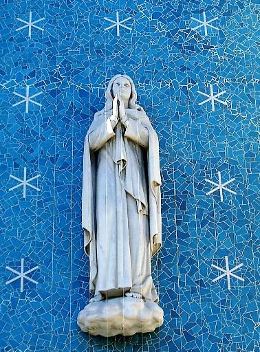 大阪・玉造教会7:マリア像