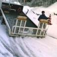 Y雪の京都4:レッカー運搬車到着