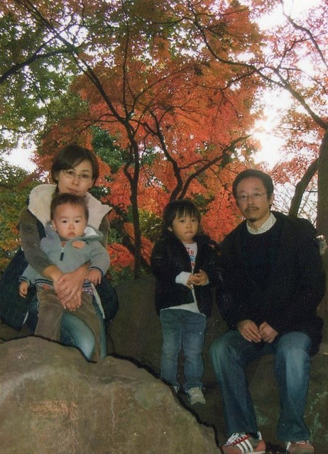 o岡部 健ファミリー3:2012