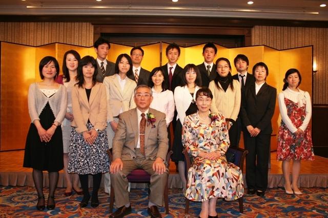京都府立大学・退官祝賀会, The Party of  Happy  Retirement  from K.P. Univ