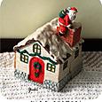 kクリスマスを彩るハウスボックスとお人形さん8