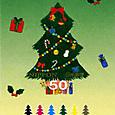 kクリスマス・冬の切手3