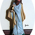 kキリスト降誕の飾り付けと壁掛け8