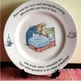 pピーターラビットの陶器3:ピーターラビットのお皿2