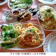 ベビーリーフ1:タイで食べた焼飯